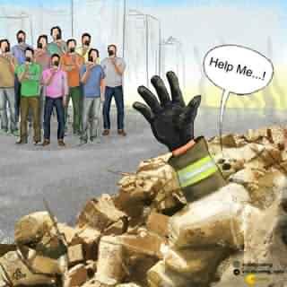فرهنگ استفاده از دوربین گوشی در حادثه پلاسکو تهران