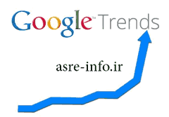 گوگل ترندز trends google