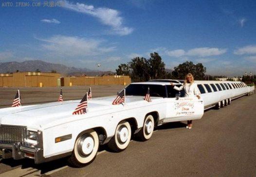 طولانیترین خودروی جهان+ تصاویر
