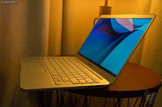 نسخه 2017 نوت بوک سری 9 سامسونگ معرفی شد: سبکترین لپ تاپ 13 اینچی جهان