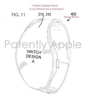 اپل واچ به نمایشگر منعطف مجهز میشود