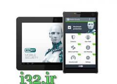 ایست سکوریتی موبایل نود 32 اندروید ESET Mobile Security با یوزر رایگان